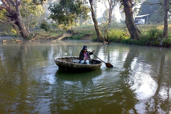 Coracle Riding