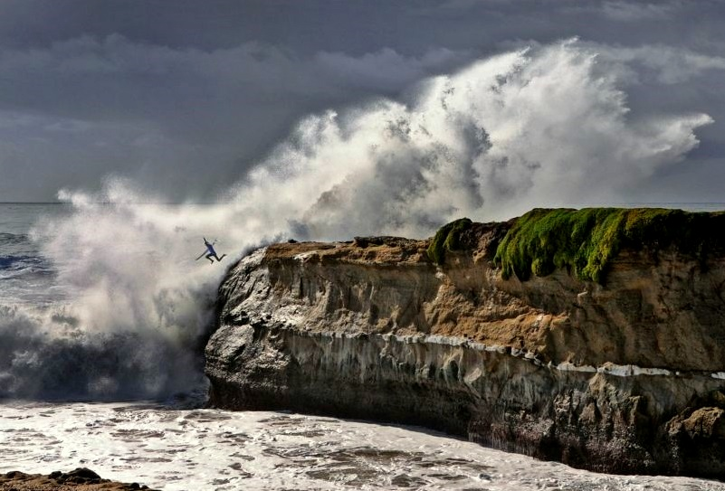 Lighthouse Point, in Santa Cruz, California