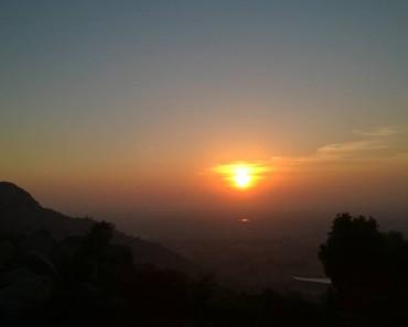 Sunrise At Antharganage Escape2Explore