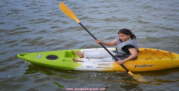River rafting and kayaking in manchanabele