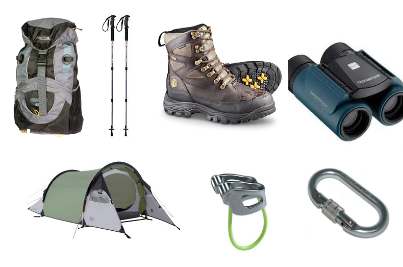 things to carry on an adventure trip