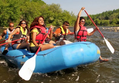 Most Thriving Destinations near Bangalore for River Rafting