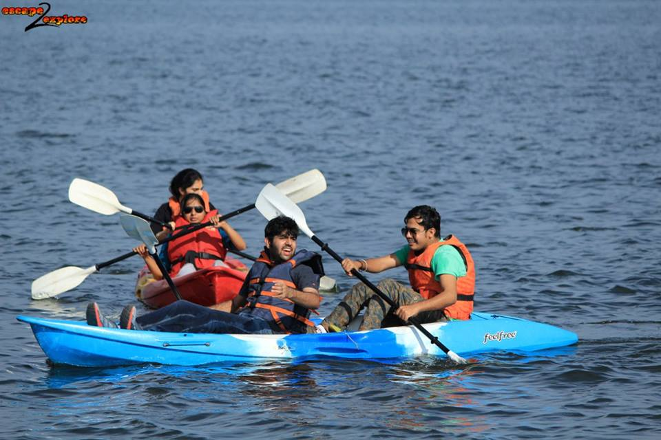 Kunti Betta Team Outing With Adventure Activities